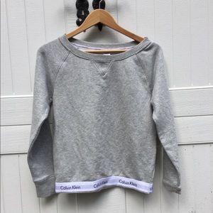 Small Grey Calvin Klein Sweatshirt